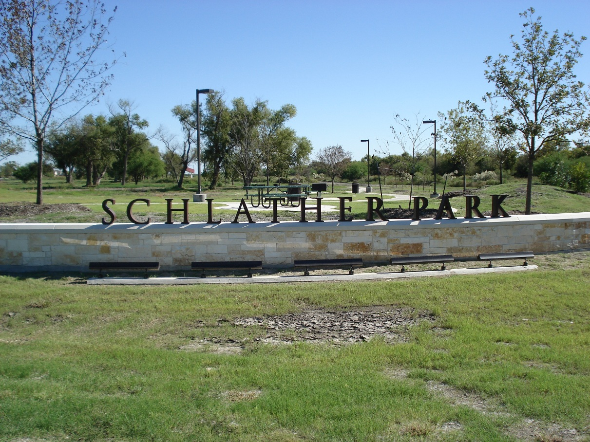 Schlather Park Town Creek West Channel